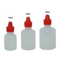 Sticluță cu picurător 10ml, PP - poz.1