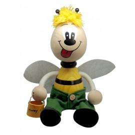 Albina din lemn cu arc, mare - baiat