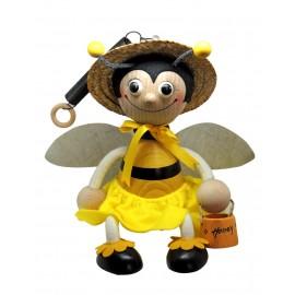 Albina din lemn cu arc, mare - fata