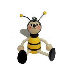 Albina din lemn cu arc, mica - baiat