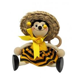 Albina din lemn cu arc, mica - fata