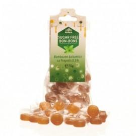 Bomboane fără zahăr balsamice cu propolis, 70g