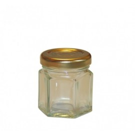Borcan 45ml - hexagonal
