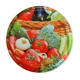 Capac 82mm - Cos cu legume
