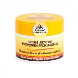 Crema pentru ingrijirea picioarelor, 50ml