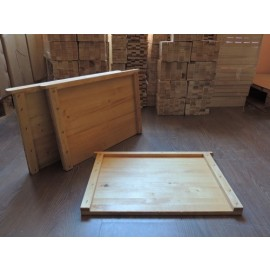 Diafragma din lemn, parafinata