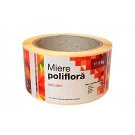 Etichete Apiluk, la rola - Poliflora 1kg