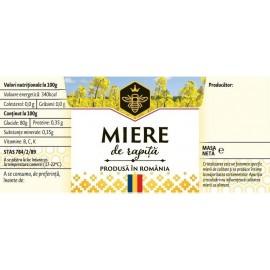 Etichete deptunghiulare - Rapiță