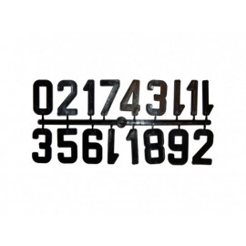 Numere stupi - set pentru 13 stupi - diverse culori