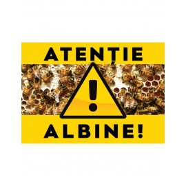 Panou avertizare albine 2