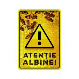 Panou avertizare albine 3