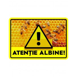 Panou avertizare albine 4