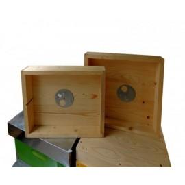 Podisor lemn pentru stup de 12 rame