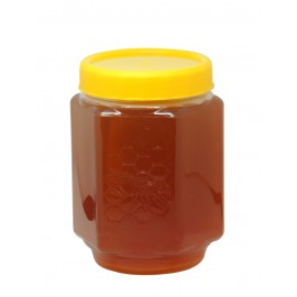 Borcan plastic PP 720ml - hexagonal