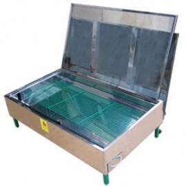 Topitor solar pentru ceara, 3 rame 1/1 dadant
