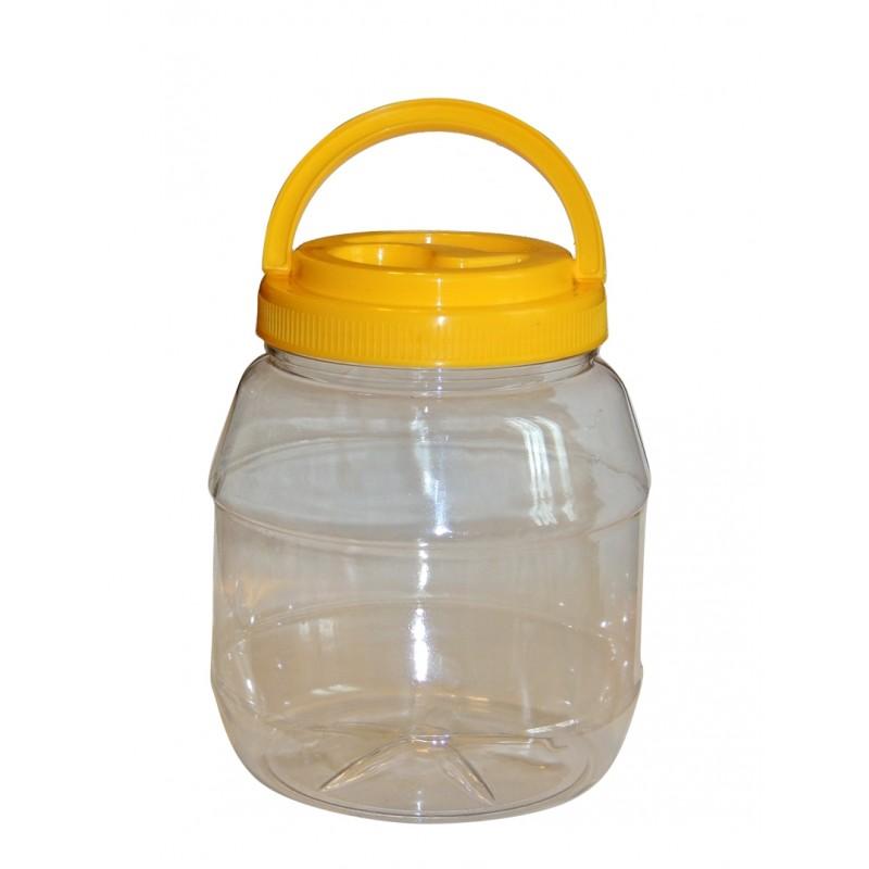 Borcan plastic 2000ml - butoiaș
